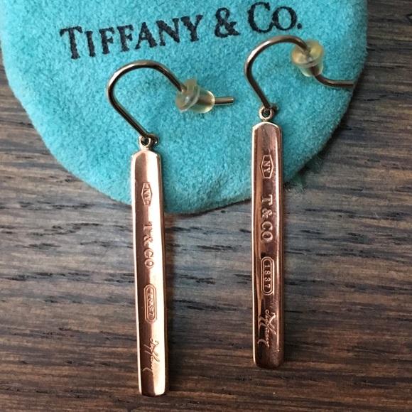 d33fafe9f Tiffany's 1837 Bar Drop RUBEDO earrings. M_5b15ee8caa57190cd58b7902